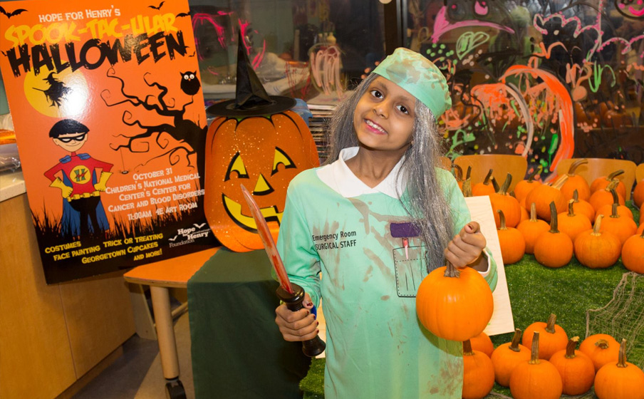 It's Going to Be a Happy Halloween at Sinai Hospital of