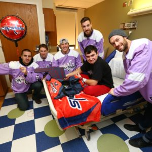CapsToday: Washington Capitals Visit MedStar